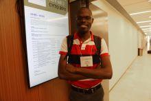 Clemet Shiluli, a KENET travel grantee