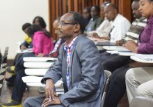 Participants at the KEMRI Research Forum